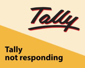 Tally not responding
