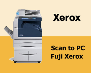 Scan to PC Fuji Xerox